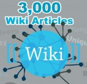 3,000 Wiki Backlinks